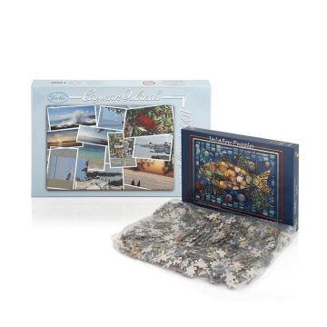 1000 Pieces Unique Jigsaw Puzzle Paper Box For Adults Wholesale