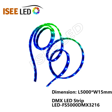 Luces de cuerda LED DMX512 RGB a todo color