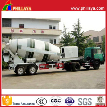 Concrete Mixer Semi Trailer with Volume 12-16m3 Optional