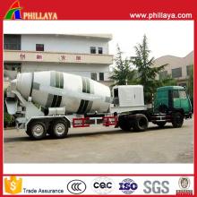Semi reboque do misturador concreto com volume 12-16m3 opcional