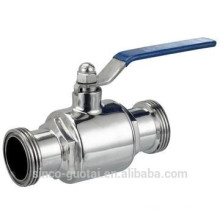 304 ss ball valve tri clamp 1.5""