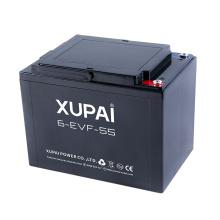 Baterias de chumbo-ácido 12V 55AH para carros de três rodas