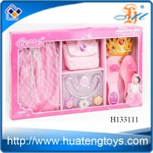 2014 Горячие продажи Мода Красота набор Дети игрушки ювелирные изделия, одеваются набор для девушки H133111