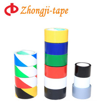 different colors PVC material warning tape