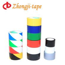Fita de advertência de material de PVC de cores diferentes