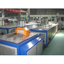 WPC PE PP Profile Production Line, WPC Outdoor Floor Making Machine