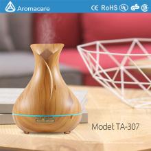 Aromacare Großhandel 400 ml Vase Form Spa Raum Aromatherapie Ätherisches Öl Diffusor 7 Farben Luftbefeuchter