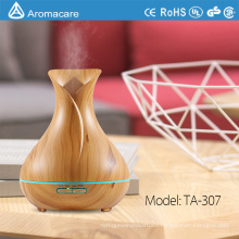 Aromacare 400ml Free Sample Ultrasonic Wood Grain Aromatherapy humidifier diffuser