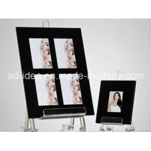 Schwarzer Fotorahmen Acryl Display-Ständer