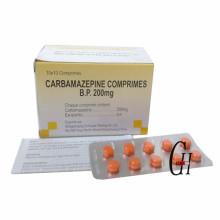 Tabletas de carbamazepina 200 mg