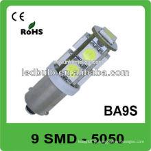 Alta qualidade 9 SMD 12V ba9s levou auto iluminação