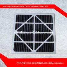 G3 G4 pleated hvac activated carbon air filters room air filter