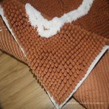 Las alfombras llanas ruedan las camas del perro para la estera de puerta de encargo de los perritos
