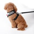 ? Fashion Elegant Peppita Design weichen Mesh Hund einfach Walking Harness