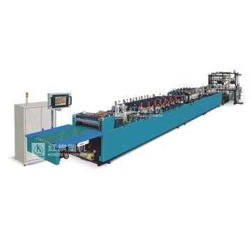 Высокоскоростная (три-серво) машина для запечатывания вертикальных мешков с тройным уплотнением