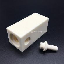Kundenspezifische Gewindeteile aus Aluminiumoxidkeramik