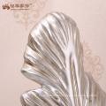 Creative crafts polyresin leaf sculpture for designer studio decoration