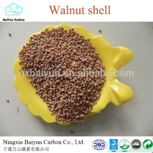 competitive walnuts in shell price as abrasive 12mesh crushed walnut shells