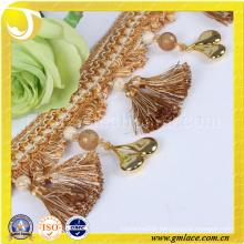 China Supplier Wedding Dress Costume Curtain Tassel Sexy Fabric Beaded Fringe