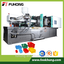 Ningbo fuhong 500ton vollautomatischen Kunststoff Gemüse Obst Kiste Spritzgießmaschine Preis