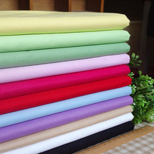60s 100% Baumwollgewebe Plain Kein Stretch Stoff Tencel -Like Baumwollgewebe