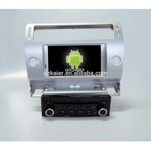 Octa-core 7.1! Fabricante 7 '' navegador do perseguidor de GPS do carro para Citroen C4 com navegação de rádio wifi Mp3
