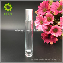 8 ml 10 ml 12 ml rolo transparente em garrafa de vidro óleo essencial perfume óleo essencial de espessura inferior garrafa de vidro