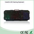 Grado de una calidad superior con cable colorido juego de teclado LED (KB-1901EL-C)