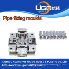 Plastic mold supplier for standard size plastic ppr pipe fitting mould in taizhou China