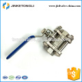 JKTL3B016 memproduksi 3pc gas rb pn40 stainless steel propress valves