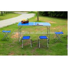 Nueva mesa plegable plegable de aluminio portátil de mesa portátil