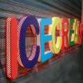 RGB Backlit LED Channel Letter Sign