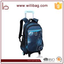 Bolso de la carretilla de la rueda de la mochila rodada diseño popular popular de la carretilla