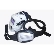 New Design Shine Powered Air Purifying Respiratory Welding Helmet