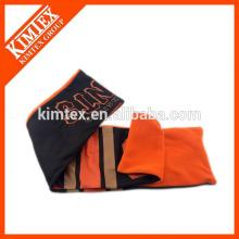 Оптовый трикотажный на заказ полиэфирный атласный шарф