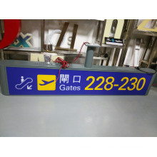 Metro Station Airport Indoor Interior Customized LED Exit Entrance Guide Information Wayfinding Directory Signage