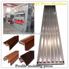 mdf mouds hot press machine/melamine mould making machine