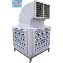 Воздушный охладитель с односторонним выпуском воздуха