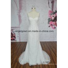 Elegantes Meerjungfrau Brautkleid Long Tail