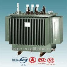 Three phase oil immersed power transformer 33kv