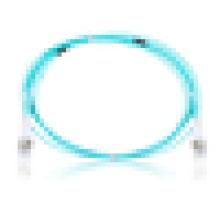 Frete grátis Multimodo Duplex om3 cabo de remendo da fibra óptica, cabo do remendo, ponteiro óptico da fibra para o onu de FTTH