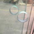 puertas de cristal templado claro de alta seguridad