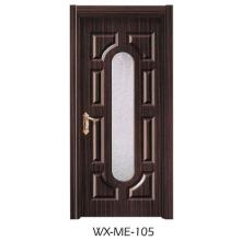 Niedriger Preis Ausgezeichnete Qualität Hotsale Melamin-Tür (WX-ME-105)