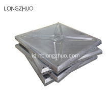 1220mm Panas Dicelup Galvanized Steel Water Tank Panel