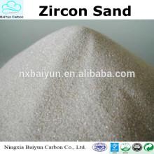 Preço da areia Zircão de alta pureza