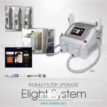 Remoção do cabelo facial da e-luz do melhoramento do filtro 950nm