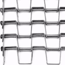 Конвейерная лента с плоским звеном цепи из нержавеющей стали