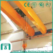 Bastón de puente de viga doble tipo Lh con polipasto eléctrico