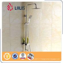 Prix concurrentiel Ensemble de mélangeur de douche moderne et exposé, robinet de salle de bains, robes de pluie