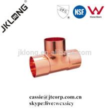 T de cobre de montaje de cobre C * C * C